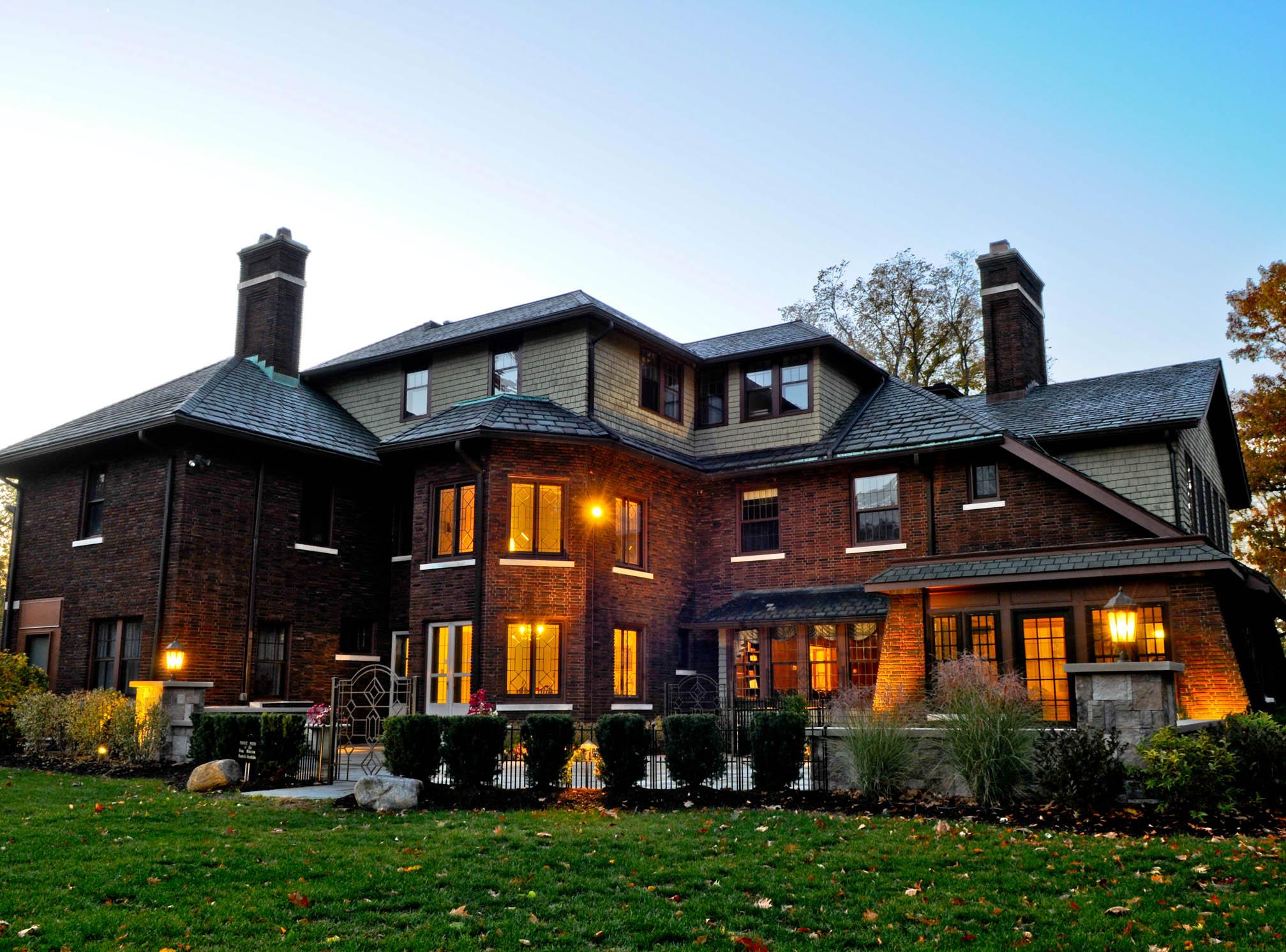 Cleveland Historic Mansion Al Euclid Ohio Henn